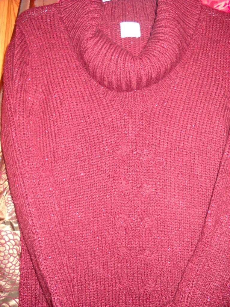 cf3d31a08bf ... Robes dscn00831-225x300 robe pull camaieu automne hiver rouge dans Pulls